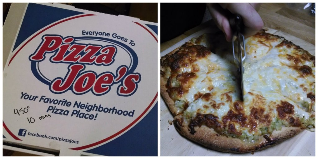pizza joes collage