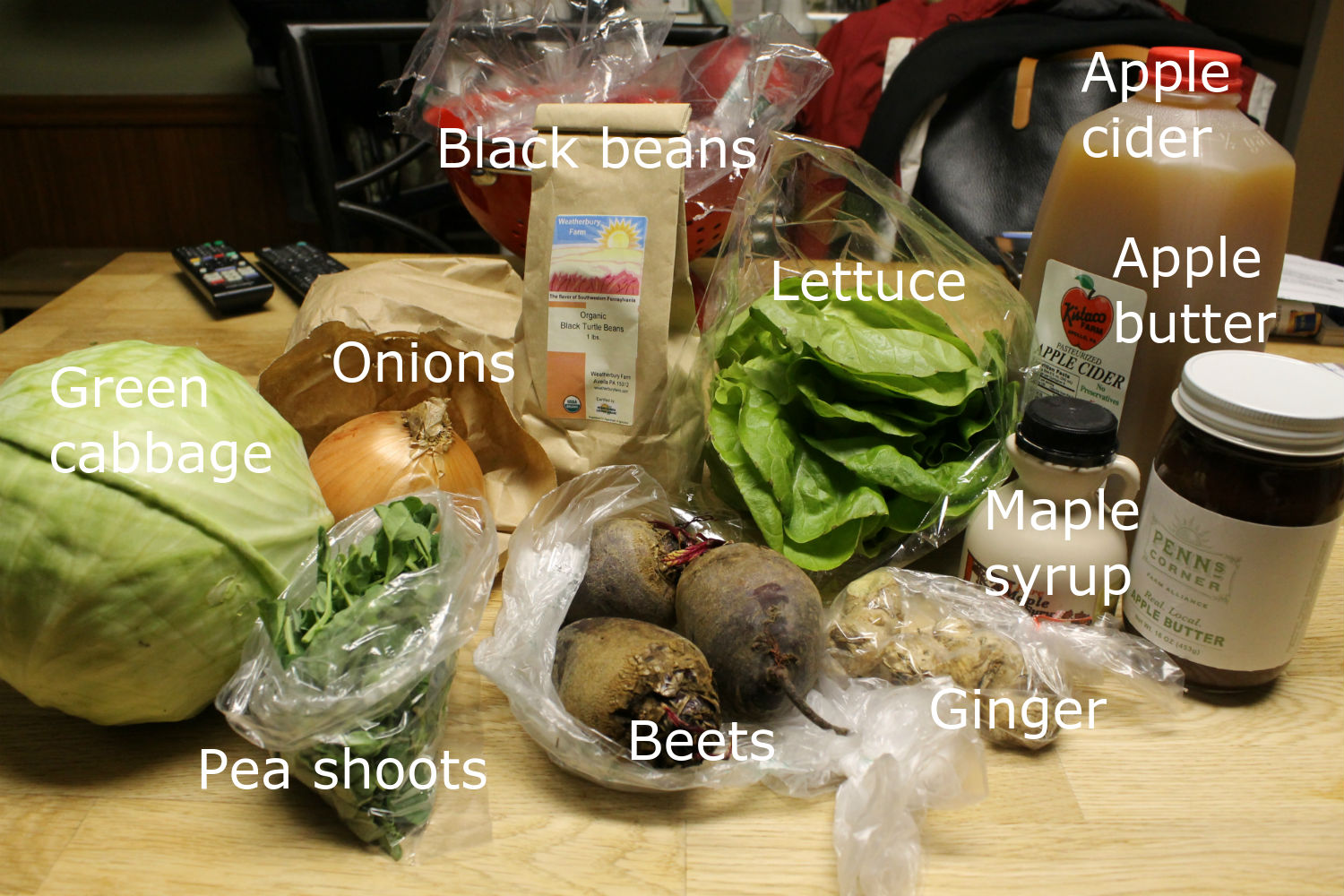Real Life CSA - Winter share 4