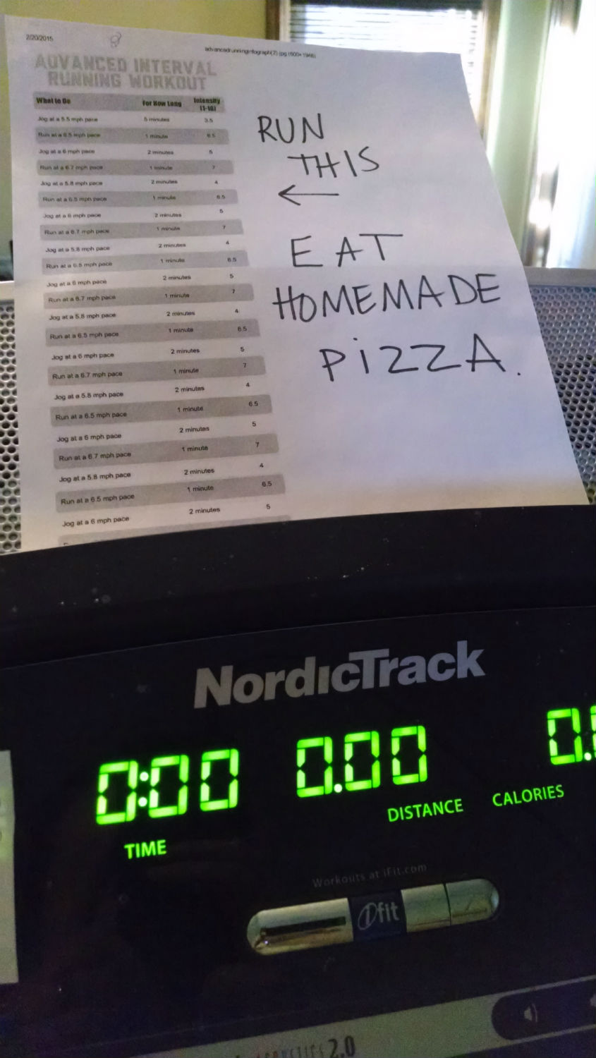 treadmill pizza