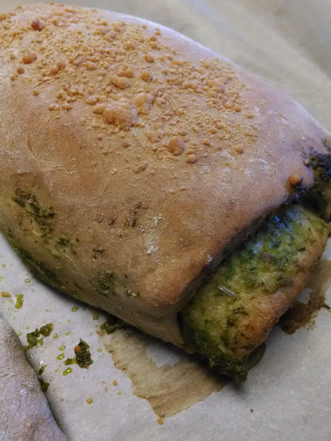 chimichurri bread