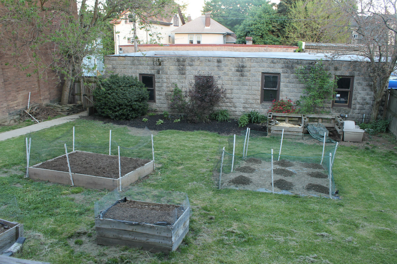 prepped beds 2